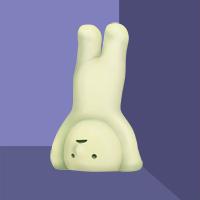 Smiski Handstand
